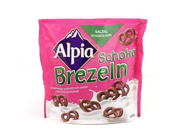 Alpia Schoko Brezeln