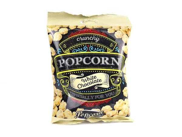 Crunchy Choco Popcorn, Weiße Schokolade