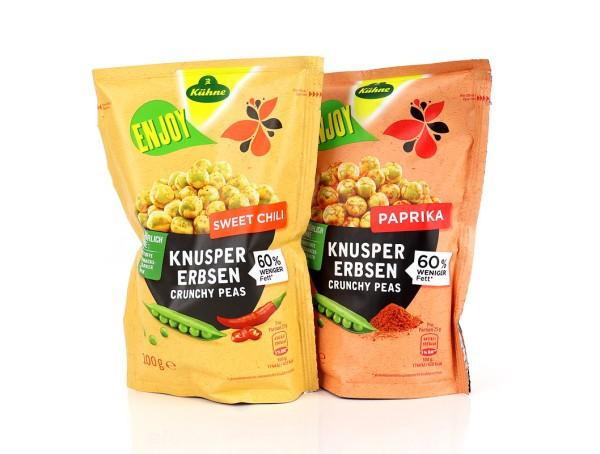 ENJOY Knuspererbsen Probierpaket (Sweet Chili & Paprika)