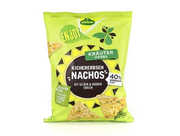 ENJOY Kichererbsen-Nachos Kräuter